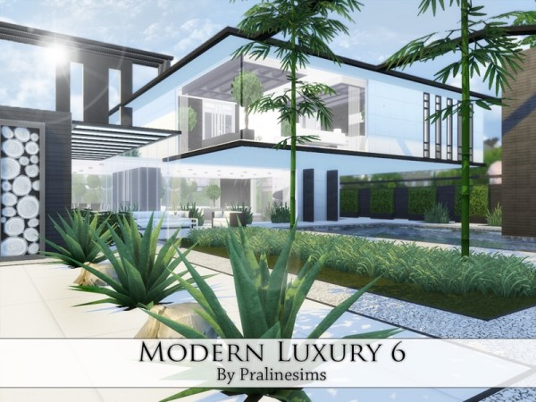 The Sims Resource Modern Luxury 6 By Pralinesims Sims 4