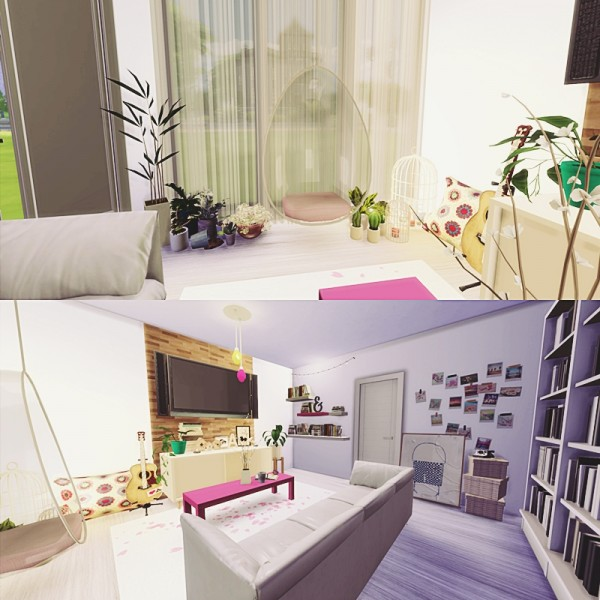 Mony Sims The Cute Livingroom • Sims 4 Downloads