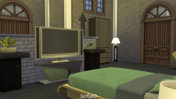 JarkaD Sims 4: Industrial apartment