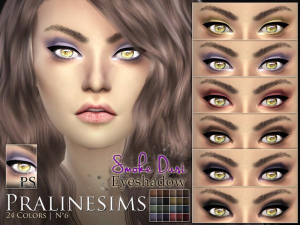 The Sims Resource: Smoke Dust Eyeshadow by PralineSims