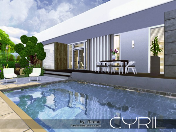 The Sims Resource: Cyril house by Rirann