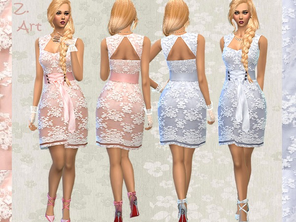 The Sims Resource: Lace Dream by Zuckerschnute20