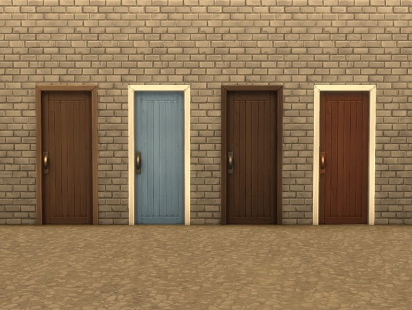 Mod The Sims: Mega Doors by plasticbox