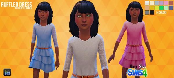 Onyx Sims: Ruffled Dress
