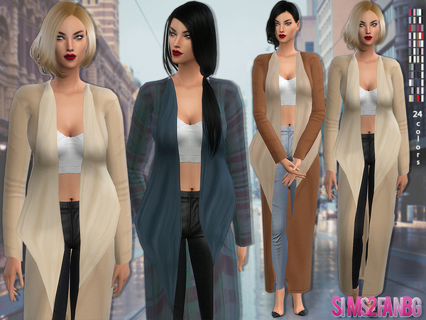The Sims Resource: 63   Fall outfit by sims2fanbg