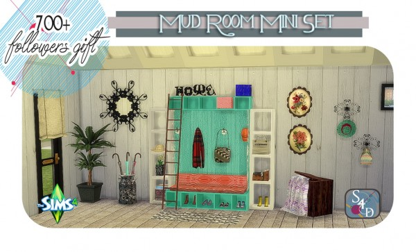 Sims 4 Designs The Mud Room Mini Set Followers Gift By