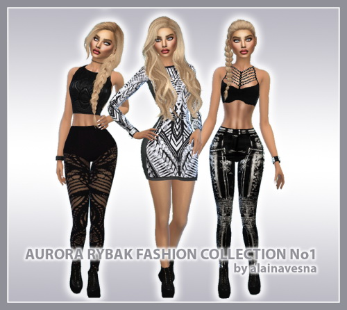 Alaina Vesna: Aurora Rybak Fashion Collection No1