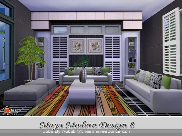 The Sims Resource: Maya Modern Design 8 by Autaki