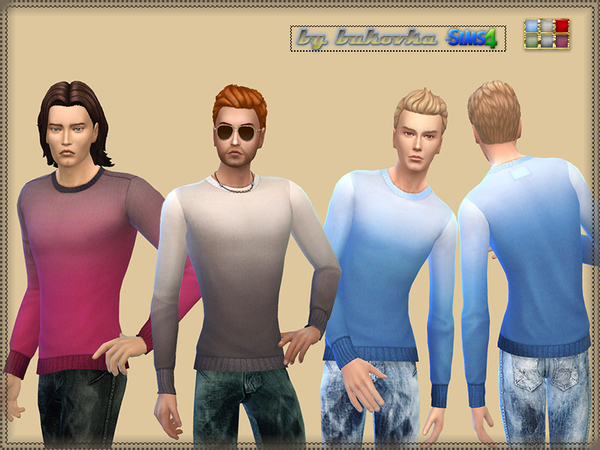 The Sims Resource: Sweater Gradient by Bukovka