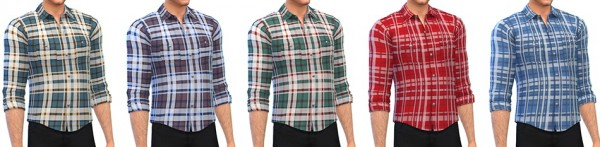 Simsontherope: Checked Shirt