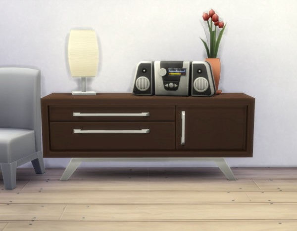 Mod The Sims: Audrinite Side Table / Dresser by plasticbox