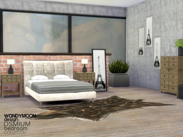 The Sims Resource: Osmium Bedroom by wondymoon