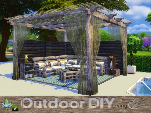 The Sims Resource: DIY Outdoor Living by Buffsumm