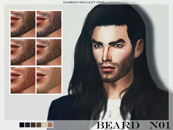 The Sims Resource: Beard N01 by FashionRoyaltySims