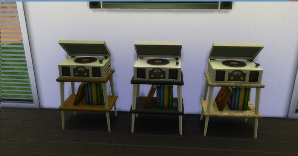 Mod The Sims Vinyl Stereo Record Player By Adonispluto