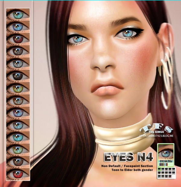 Tifa Sims: Eyes N4 ND