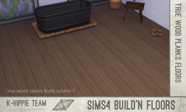 Mod The Sims: 7 Authentic Wood Floors   true seamless   volume 1 by Blackgryffin