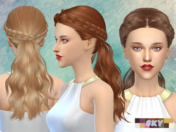 The Sims Resource: Skysims Hair 270 Tina