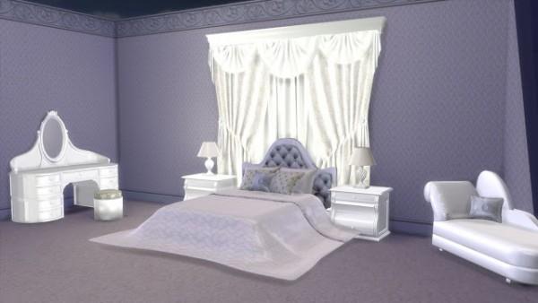 Sanjana Sims Modern Luxury Bedroom Set Sims 4 Downloads