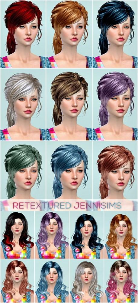 Jenni Sims: Newsea Lucky Star Hair, Newsea Anthem Hair retextured