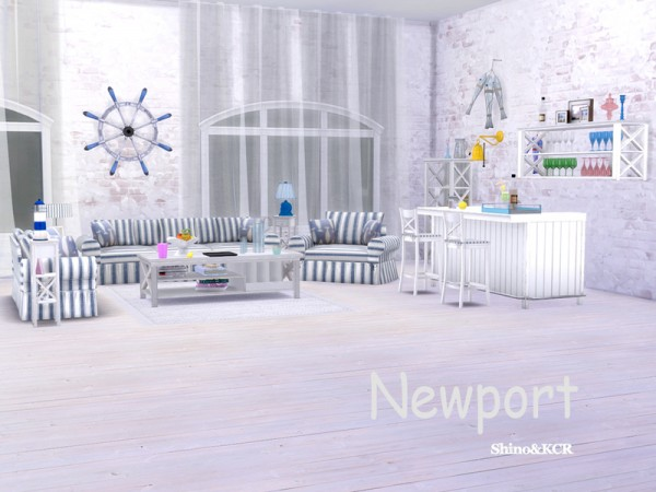 The Sims Resource: Newport Living by ShinoKCR