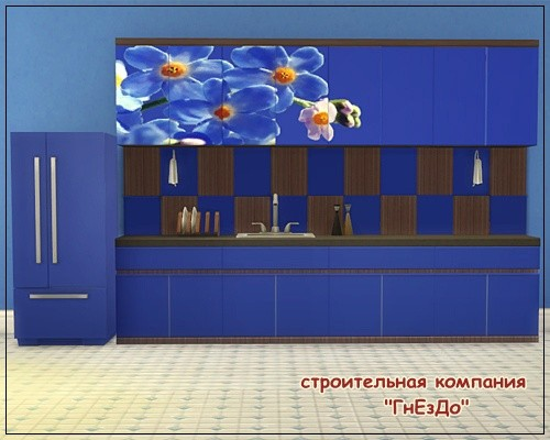Sims 3 by Mulena: Kitchen furniture Forget Me