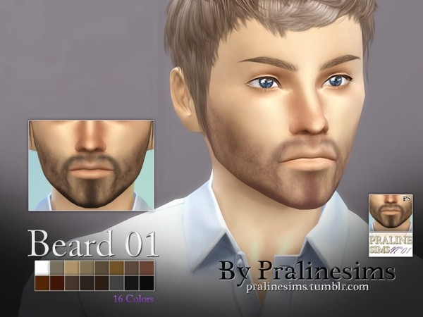 The Sims Resource Beard Megapack 15 Beards By