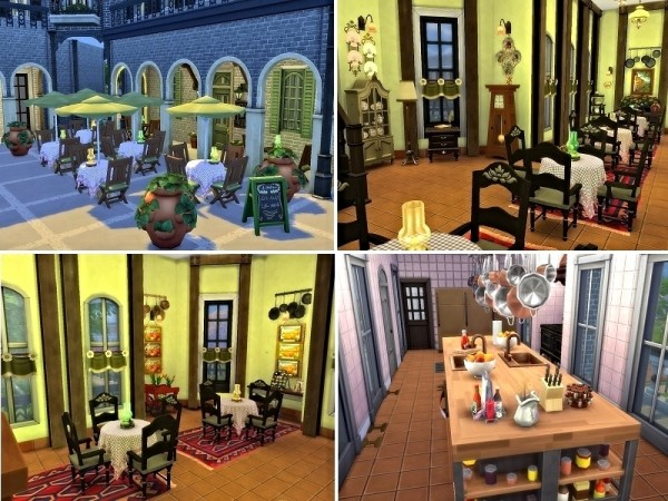 The Sims Resource: Plaza Mayor by Casmar