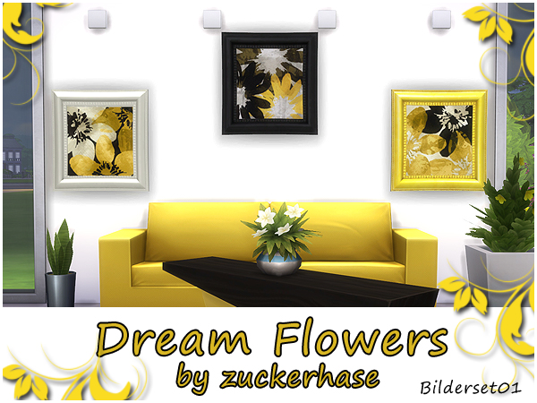 Akisima Sims Blog: Dream flowers
