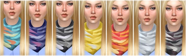 Jenni Sims: Necklace Scarf