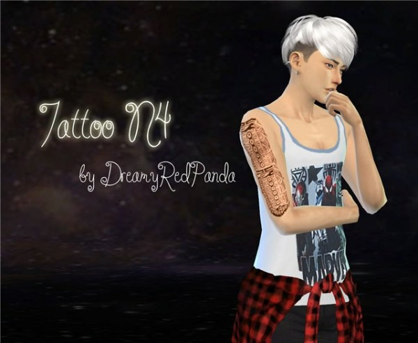 The Sims Models: Tattoo by Dreamy Red Panda