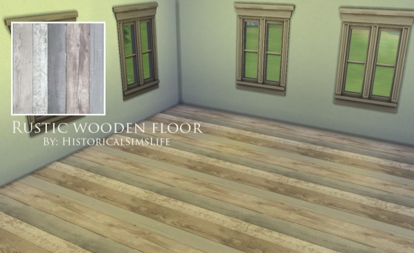 History Lovers Sims Blog: Rustic Wooden Floor Set