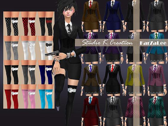 Studio K Creation: Felicita outfit