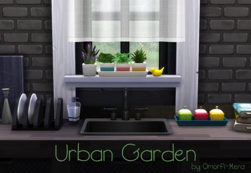 Omorfi Mera: Urban Garden Herb Pots