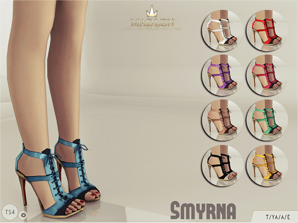 The Sims Resource: Madlen Smyrna Shoes by MJ95