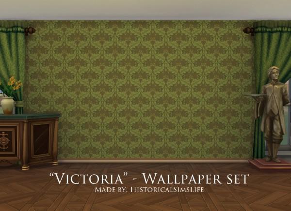 History Lovers Sims Blog: Victoria   Victorian Wallpaper Set