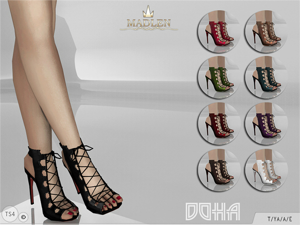 The Sims Resource: Madlen Doha Shoes by MJ95