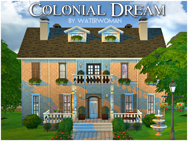 Akisima Sims Blog: Colonial dream