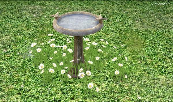 27Sonia27: Bird Bath Fountain