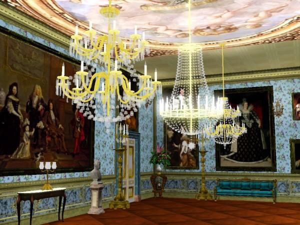 Regal Sims: 17th Century Painting Mega set 1