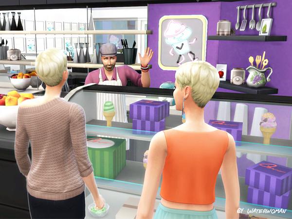 Akisima Sims Blog: Cream Waffle Shop