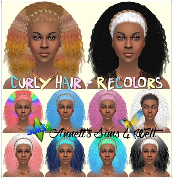 Annett`s Sims 4 Welt: Curly Hair