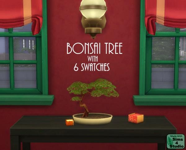 Sims 4 Studio: Bonsai Tree by OM