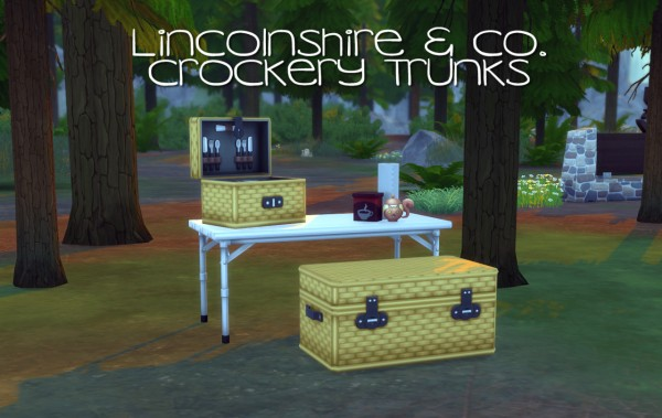 Peach and her Pan: Lincolnshire & Co. Crockery Trunks Separated