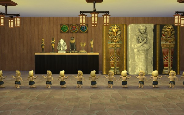 Mod The Sims Egypt Relics By G1g2 Sims 4 Downloads