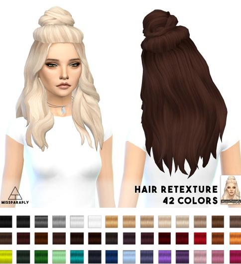 Miss Paraply: Hair retexture Vellichor