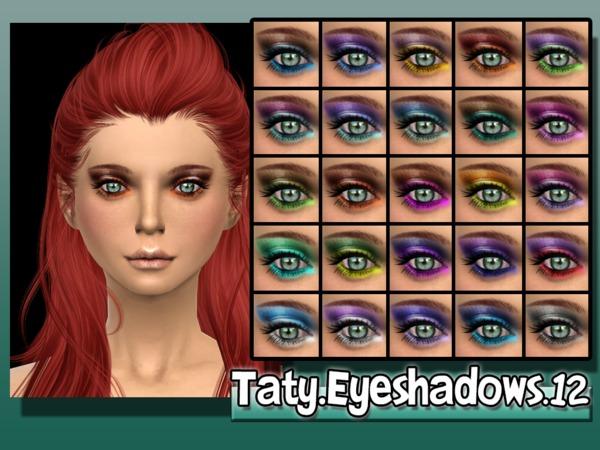 The Sims Resource: Taty Eyeshadow 12