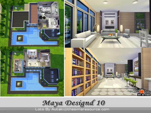 The Sims Resource: Maya Modern Design10 b y Autaki