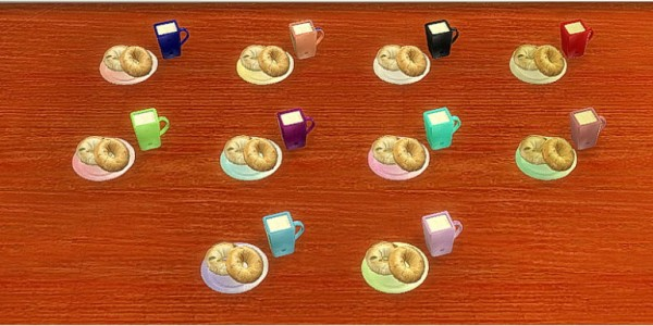 Sims 4 Designs: Everyones Breakfast Set