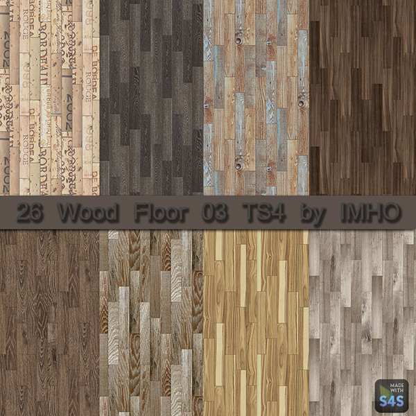 Imho Sims 4 26 Wood Floor 03 Sims 4 Downloads